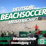 Deutsche Beachsoccer Meisterschaft in Warnemünde