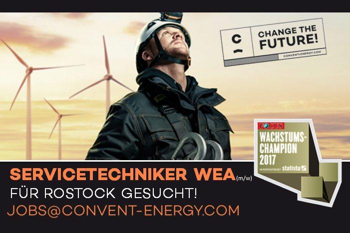 Convent energy präsentiert: Den #JobderWoche in Rostock