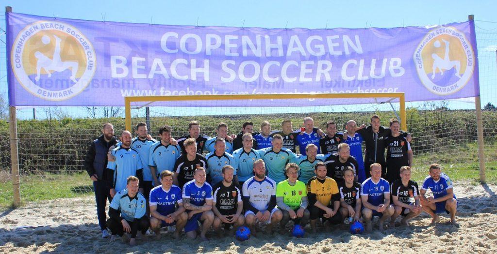 Sieg beim Copenhagen Beach Soccer Cup