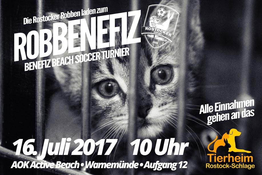 robBENEFIZ 2017 terminiert