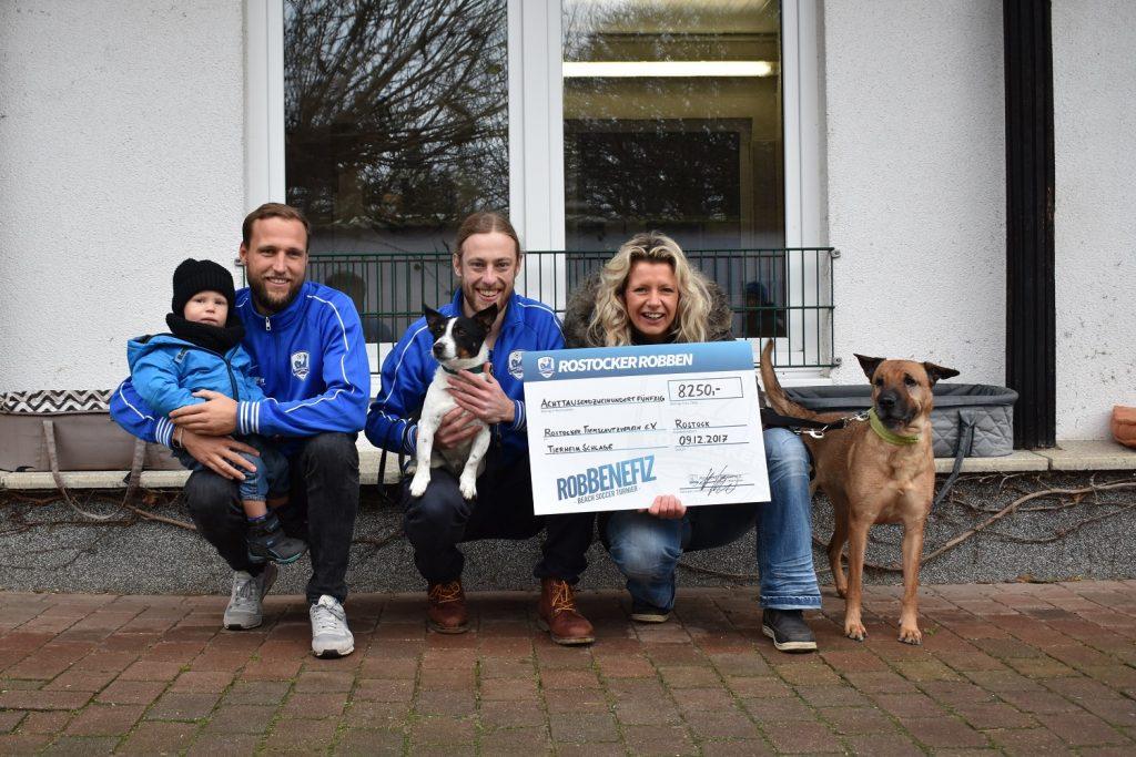 robBENEFIZ 2017: Spenden feierlich überreicht