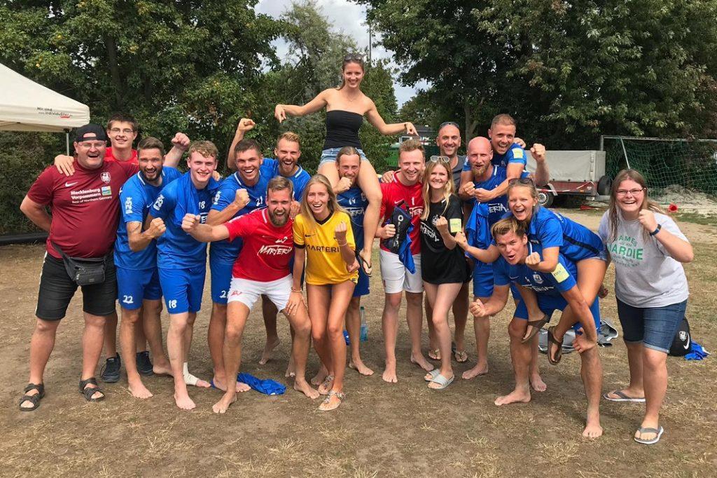Saisonbeginn in der Deutschen Beachsoccer-Liga am Wochenende