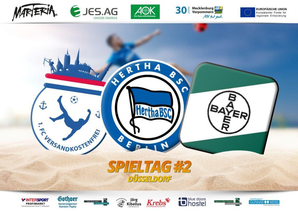 Weiter geht's: Zweites Spieltagsevent in Düsseldorf
