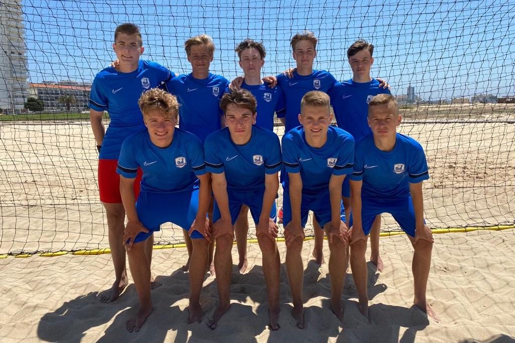 U19 beim Madjer-Cup in Figueira da Foz